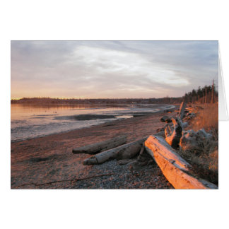 Sunset at Birch Bay Cards