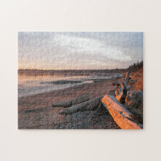 Sunset at Birch Bay Puzzles