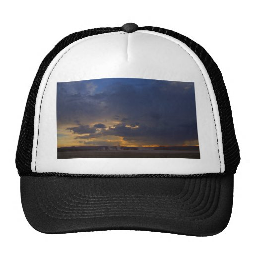 Sunset At Biscuit Basin Trucker Hat