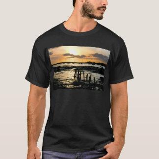 Sunset at Bosham Harbour, West Sussex, England. T-Shirt