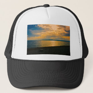 Sunset at Brela, Croatia. Trucker Hat