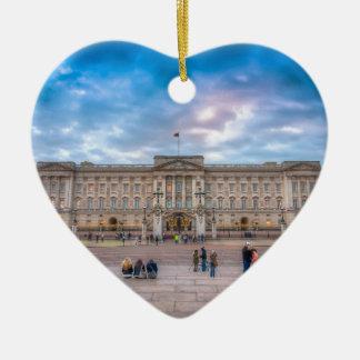 Sunset at Buckingham Palace, London Ceramic Ornament