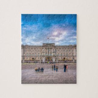 Sunset at Buckingham Palace, London Jigsaw Puzzles
