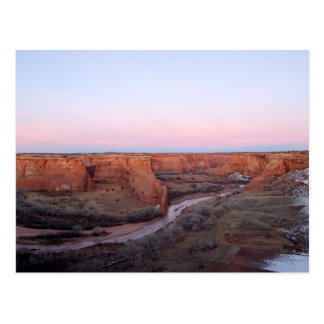 Sunset at Canyon de Chelly Postcard