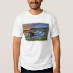 Sunset at Cape San Sabastian on Oregon T Shirts