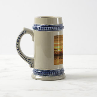 Sunset at Chincoteague 18 Oz Beer Stein
