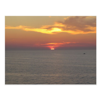 Sunset at Clearwater Postcard