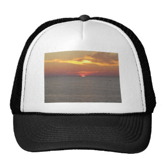 Sunset at Clearwater Trucker Hat