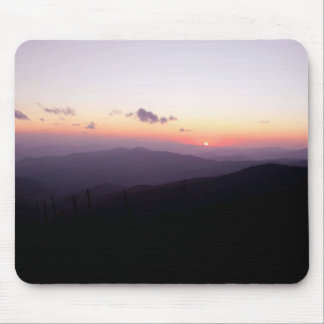 Sunset at Clingman's Dome Mouse Pad