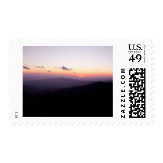 Sunset at Clingman's Dome Stamp