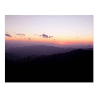 Sunset at Clingman's Dome Postcards