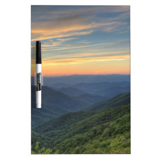 Sunset at Craggy Gardens Dry Erase Board