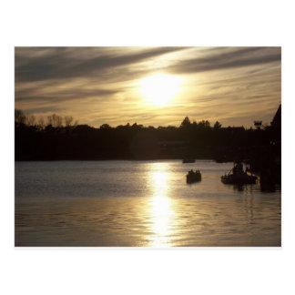 Sunset at EPCOT Postcard