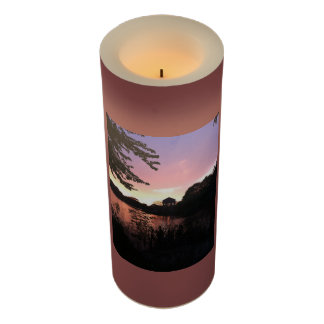 Sunset at FDR Park Philadelphia Flameless Candle