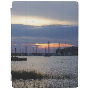 Sunset At Folly Harbor iPad Smart Cover
