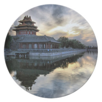 Sunset at Forbidden City Party Plates