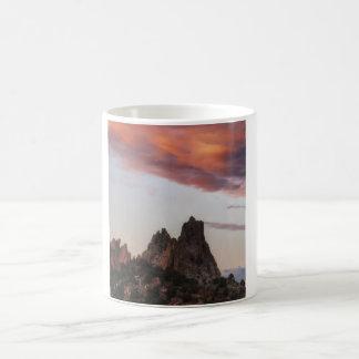 Sunset at Garden of the Gods Classic White Coffee Mug