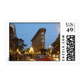 Sunset at Gastown Postage Stamps