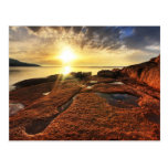 Sunset at Honeymoon Bay, Tasmania Postcards