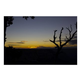 Sunset at Hopi Point Posters