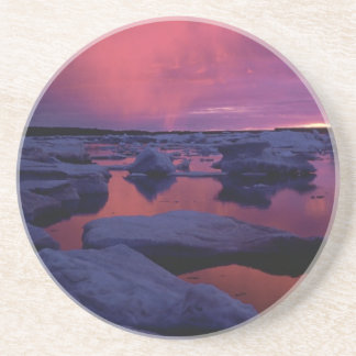 Sunset at Hudson Bay, Canada Coasters