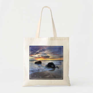Sunset At Kedonganan Beach Tote Bag