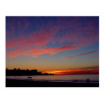 Sunset At La Jolla Shores Postcard
