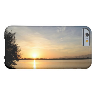 Sunset at lake barely there iPhone 6 case