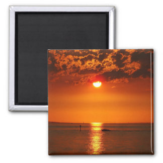 Sunset at Lake Constance - Magnet