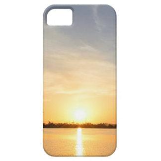 Sunset at lake iPhone SE/5/5s case