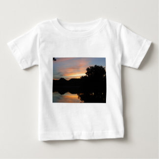 Sunset at Lake Scott State Park in Kansas Baby T-Shirt