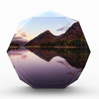 Sunset at Loch Leven, Scotland Acrylic Award