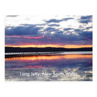Sunset at Long Jetty Postcard