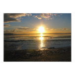 Sunset At Low Tide Personalized Invitations