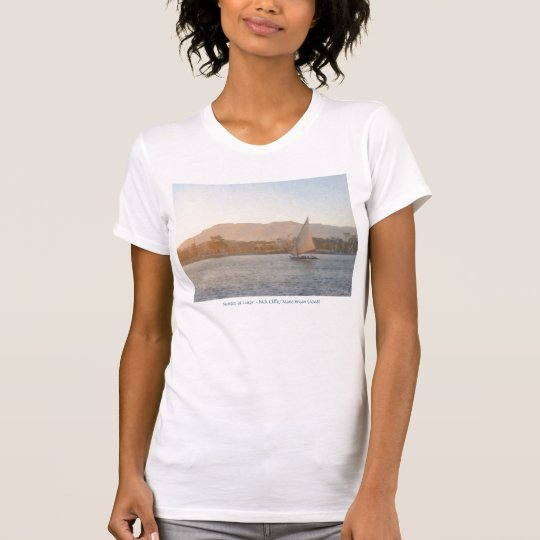Sunset at Luxor T-Shirt