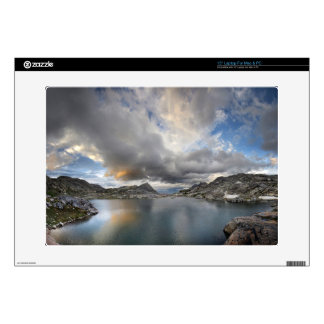 Sunset at Middle Nydiver Lake - Sierra Skin For Laptop