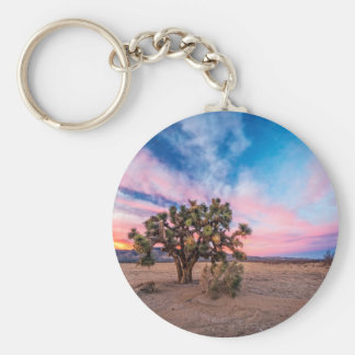 Sunset at Mojave Keychains