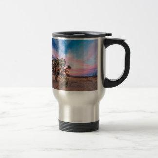 Sunset at Mojave Travel Mug