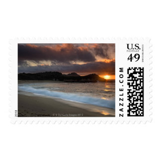 Sunset at Monastery Beach, Carmel, California, Stamps