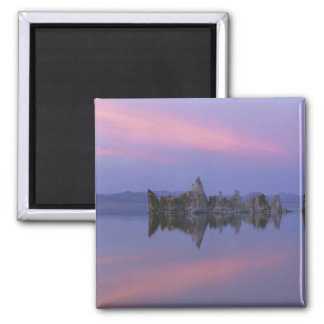 Sunset at Mono Lake, CA. 2 Inch Square Magnet