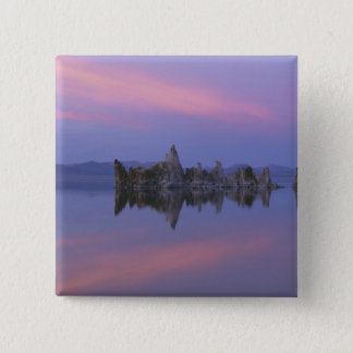 Sunset at Mono Lake, CA. Pinback Button