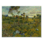 Sunset at Montmajour by Van Gogh Posters