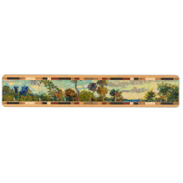 Sunset at Montmajour by Vincent Van Gogh Key Rack