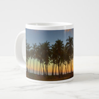 Sunset at National Historic Park Pu'uhonua o Giant Coffee Mug