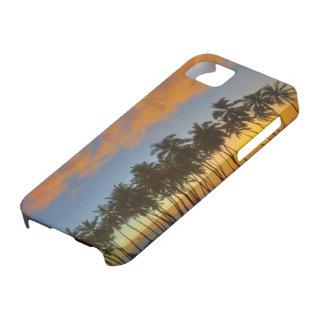 Sunset at National Historic Park Pu'uhonua o iPhone SE/5/5s Case