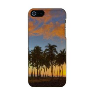 Sunset at National Historic Park Pu'uhonua o Metallic Phone Case For iPhone SE/5/5s