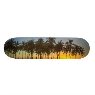 Sunset at National Historic Park Pu'uhonua o Skateboard