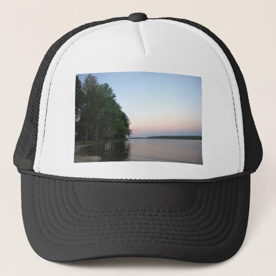 Sunset at Nockamixon State Park Trucker Hat