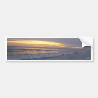 Sunset at Oak Island Bumper Sticker