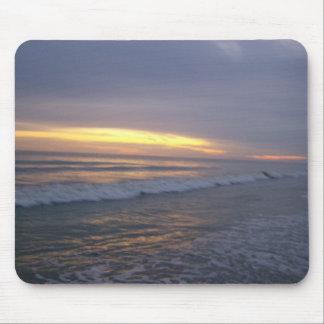 Sunset at Oak Island Mouse Pad